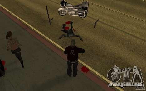 CLEO mod: renovación de peatones v1.0 para GTA San Andreas segunda pantalla