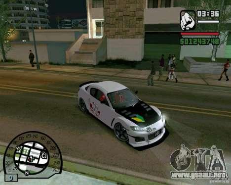 Mazda RX8 JDM Style para GTA San Andreas