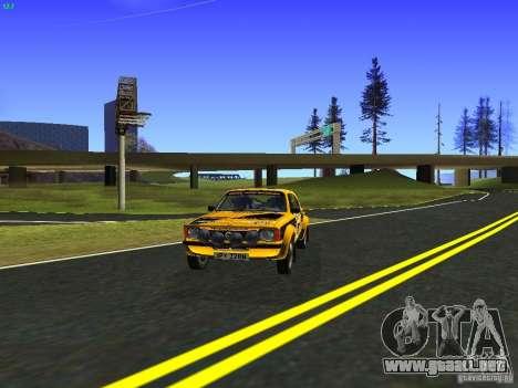 Opel Kadett para GTA San Andreas vista posterior izquierda