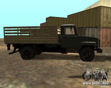 GAZ 3309 para GTA San Andreas left