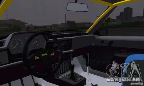 BMW M635CSi Stanced para vista lateral GTA San Andreas