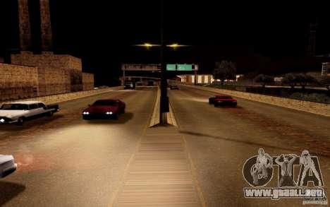 Un nuevo algoritmo para tráfico de vehículos para GTA San Andreas quinta pantalla