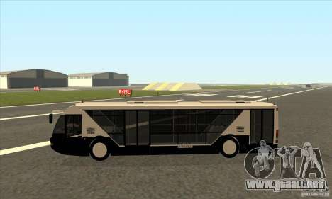 Neoplan Airport bus SA para GTA San Andreas left