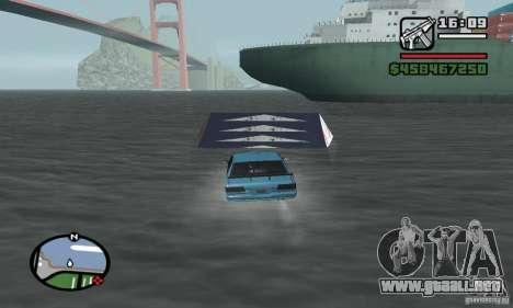 El trampolín para GTA San Andreas