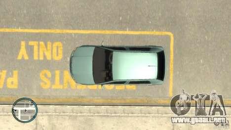 Skoda Fabia para GTA 4 vista lateral