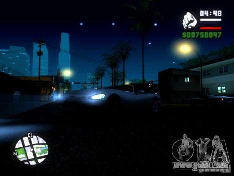 ENBSeries Medium PC para GTA San Andreas sucesivamente de pantalla
