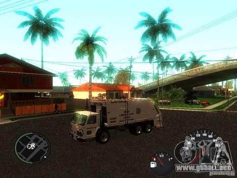 Limpiador de GTA 4 para GTA San Andreas vista posterior izquierda