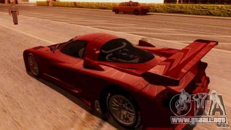 Nissan R390 GT1 98 v1.0.3 para la visión correcta GTA San Andreas