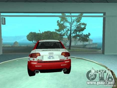 Audi RS4 para las ruedas de GTA San Andreas