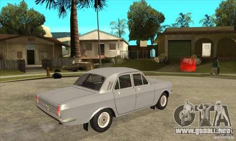 Volga GAZ 24 para la visión correcta GTA San Andreas