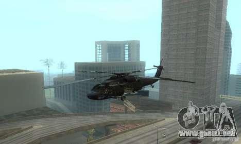 UH-60M Black Hawk para visión interna GTA San Andreas