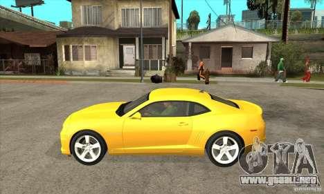 Chevrolet Camaro SS 2010 para GTA San Andreas left