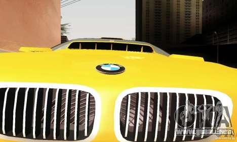 BMW M3 E46 para vista lateral GTA San Andreas