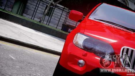 BMW X5 E53 v1.3 para GTA motor 4