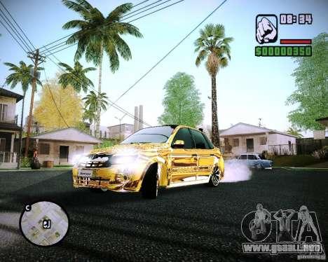 Lada Granta-2190 jarrones de oro para GTA San Andreas