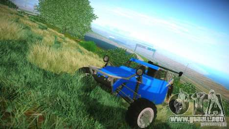 Buggy V8 4x4 para GTA San Andreas left
