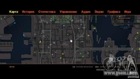 CG4 Radar Map para GTA 4 quinta pantalla