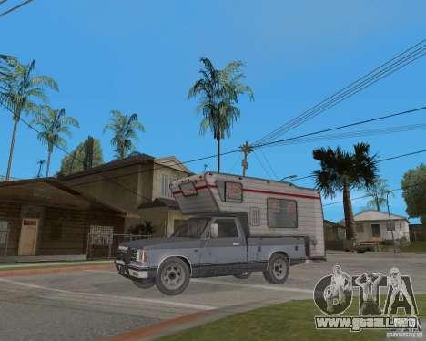 Chevrolet S-10 Kemper v2.0 para GTA San Andreas left