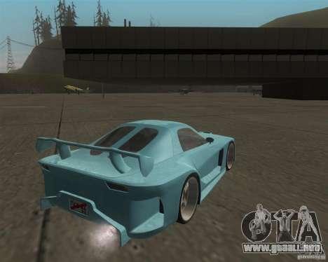 Mazda RX-7 Veilside Fortune para la visión correcta GTA San Andreas
