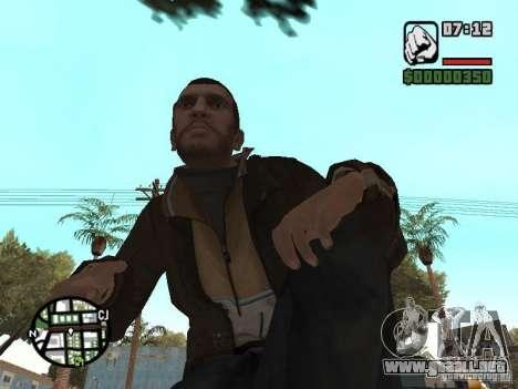 Niko Bellic para GTA San Andreas undécima de pantalla