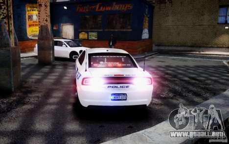 Dodge Charger 2012 Slicktop ELS para GTA 4 left