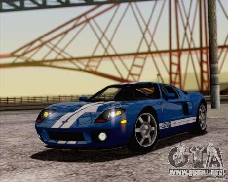 SA_NGGE ENBSeries v1.1 para GTA San Andreas segunda pantalla