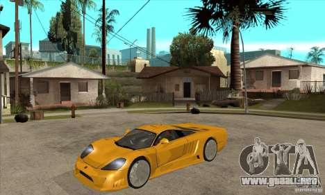 Saleen S7 Twin Turbo para GTA San Andreas