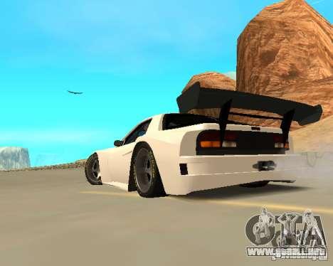Mazda RX-7 FC - MadMike: Version.2 para la visión correcta GTA San Andreas
