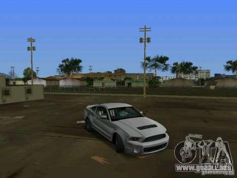 Ford Shelby GT500 para GTA Vice City left