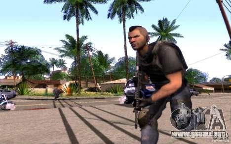 4 Un Mctavish (Brasil) para GTA San Andreas segunda pantalla