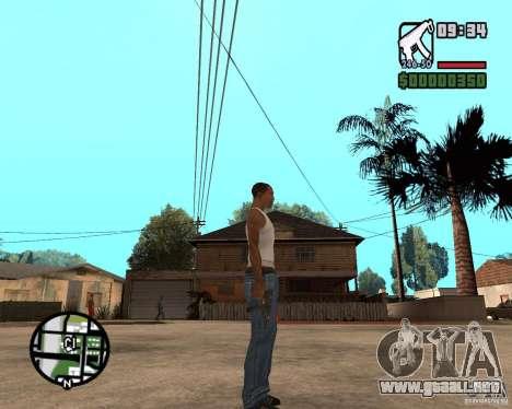 VZ-61 Scorpion para GTA San Andreas tercera pantalla