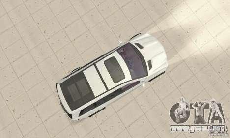 Mercedes-Benz GL450 para la visión correcta GTA San Andreas