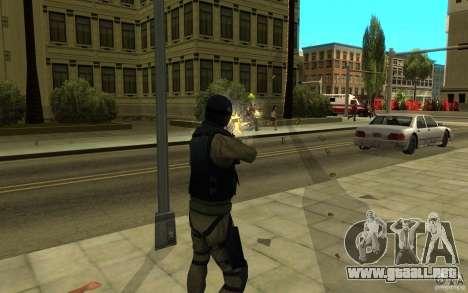 Fuerzas especiales-CJ para GTA San Andreas sexta pantalla