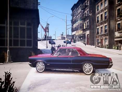 Pontiac GTO 1965 Custom discks pack 1 para GTA 4 left