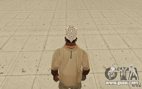 Bandana shamal para GTA San Andreas tercera pantalla