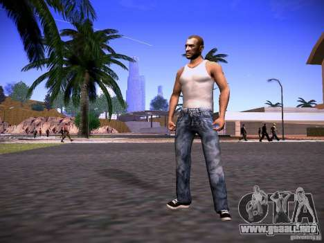 Niko Bellic Reload Beta 0.1 para GTA San Andreas segunda pantalla