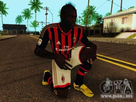 Mario Balotelli v1 para GTA San Andreas quinta pantalla
