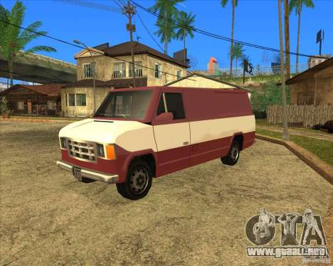 Transporter 1987 - GTA San Andreas Stories para GTA San Andreas