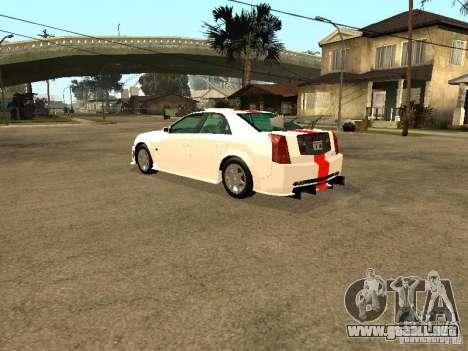Cadillac CTS 2003 Tunable para vista inferior GTA San Andreas