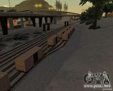 Nueva estación de ferrocarril para GTA San Andreas tercera pantalla