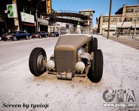 Roadster High Boy para GTA 4 left