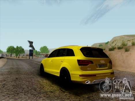 Audi Q7 2010 para la visión correcta GTA San Andreas