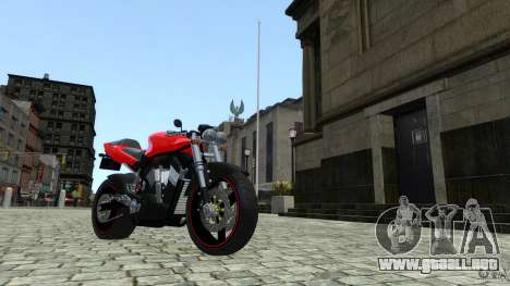 Suzuki Street Fighter Custom para GTA 4