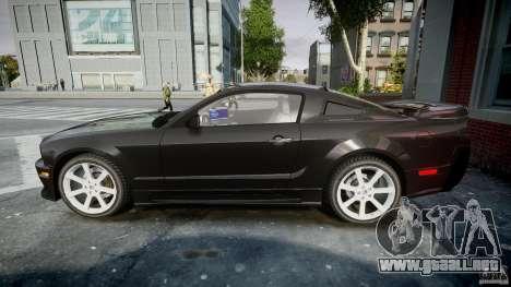 Saleen S281 Extreme Unmarked Police Car - v1.2 para GTA 4 left