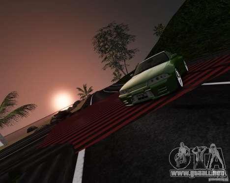 Nissan Skyline R32 GTS-t Veilside para GTA 4 vista lateral