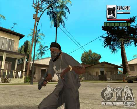 Glock new version para GTA San Andreas segunda pantalla