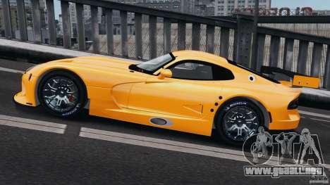 SRT Viper GTS-R 2012 v1.0 para GTA 4 left