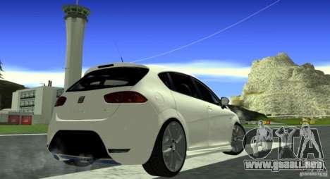 Seat Leon Cupra R para la visión correcta GTA San Andreas