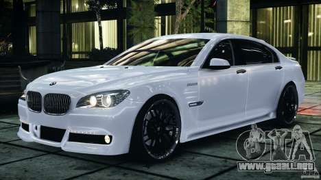 Bmw 750li Hamann para GTA 4