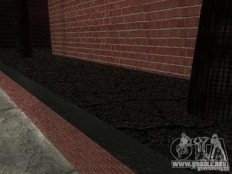 Nuevo hospital de texturas para GTA San Andreas sucesivamente de pantalla